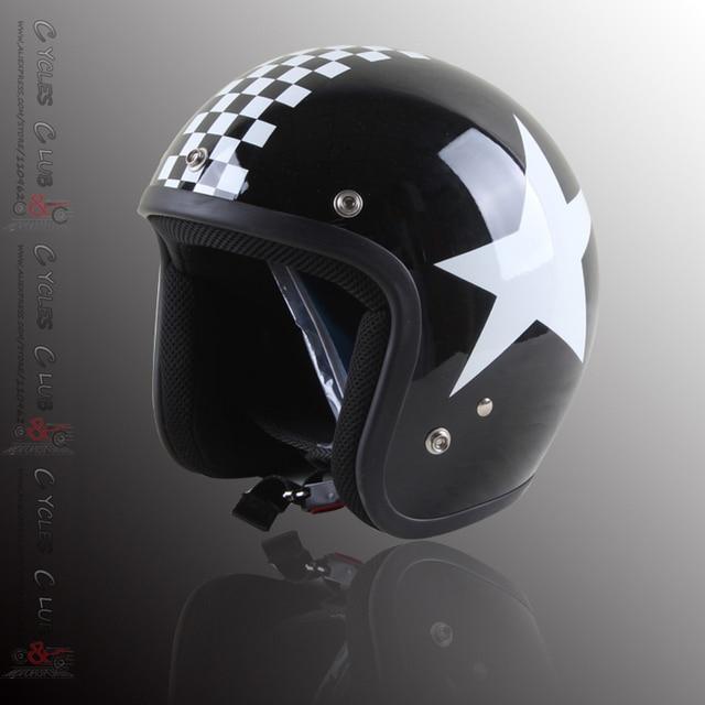 969b276d0d706 JET retro scotter helmet cascos capacetes vespa jet vintage helmets 3 4 can  add bubble shields visor goggles S-XXL