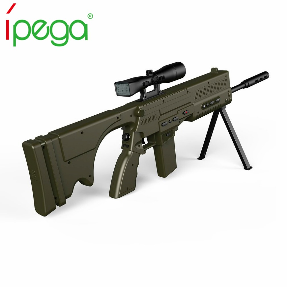 iPega 9066 PG-9066 Wireless Remote Bluetooth Game Shooting Gun Dragon Sniper For Android And IOS Device ipega pg 9029 mini wireless bluetooth remote control camera shutter for ios android phone