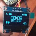 "0.96 дюймов IIC Серийный Синий OLED Дисплей Модуль 128X64 I2C SSD1306 12864 ЖК-Экран, Доска SCL SDA GND VCC 0.96 ""для Arduino"