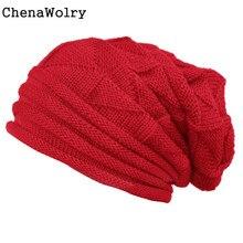Casual 2016 New Fashion Women Winter Fluff Crochet Outdoor Hat Wool Knit Beanie Warm Caps High Quality Free Shipping Nov 29