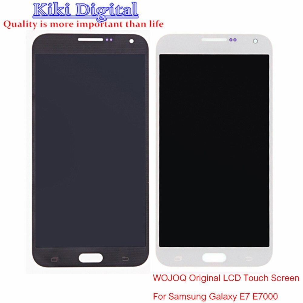 WOJOQ Original Quality For Samsung Galaxy E7 E7000 LCD touch screen digital instrument components