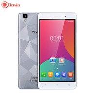 5.5 inç bluboo maya 3g smartphone mt6580 quad core cep telefonu 2 gb ram + 16 gb rom 13.0mp + 8.0mp 1280*720 3000 mah telefon