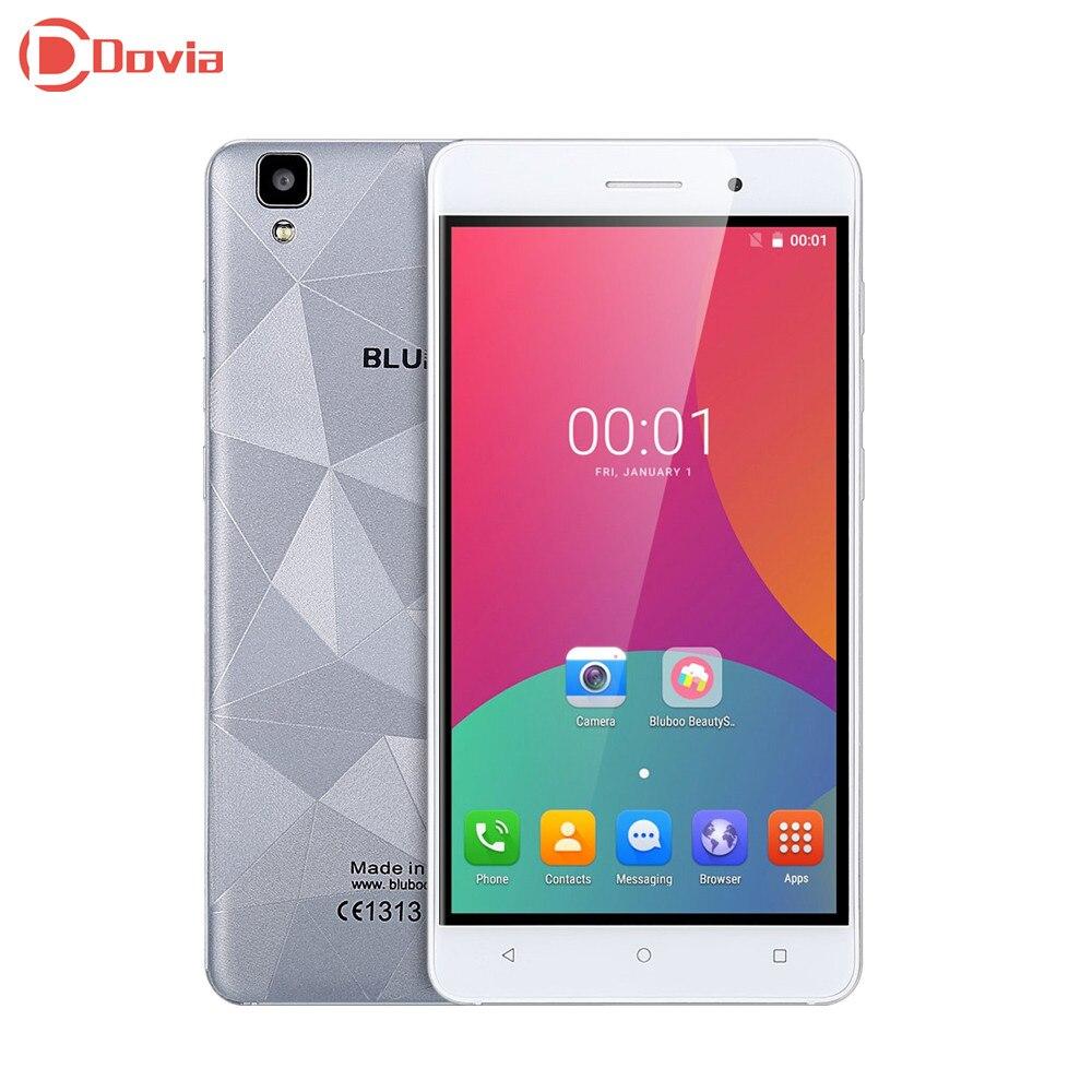 5 5 inch Bluboo Maya 3G Smartphone MT6580 Quad Core Mobile Phone 2GB RAM 16GB ROM