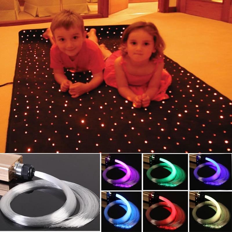Fiber Optic Light Design Theater Cinema Carpet For Floor
