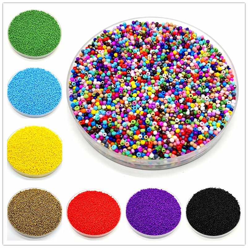 Beads Glass-Seed-Hole Jewelry-Making Czech Austria Kids Diy 1000pcs/Lot for More-Uniform