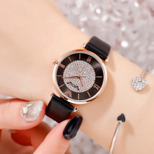 Luxury Women Diamond Watch Tephea Fashion Casual Ladies Quartz Clock High Quality Leather Watchband Wristwatch Relogio Feminino все цены
