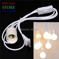 Big Promotion E27 E26 LED Light Lamp Bulb Base Socket Holder To AC Wall Outlet Plug