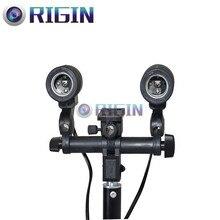 Profesional de doble fuente de luz Continua Para E27 bombilla Modelo: LH-02 para la fotografía o la grabación de vídeo Del Envío Libre