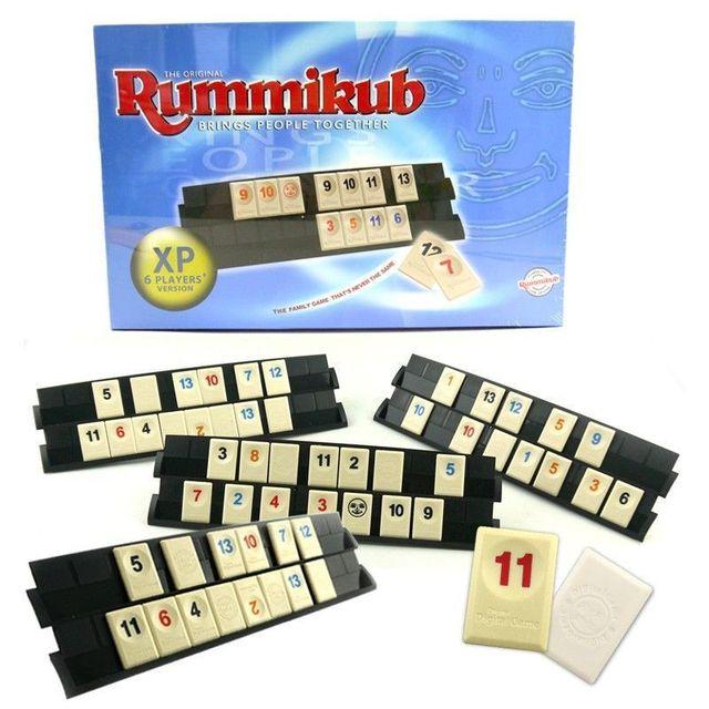 l 39 original rummikub jeu de soci t famille partie ensemble de voyage rami kid enfant adulte. Black Bedroom Furniture Sets. Home Design Ideas
