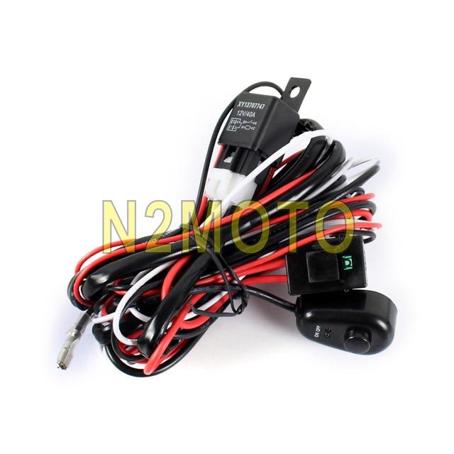 car auto led hid spotlight wire harness 12v 40a relay 2 5m fog light car auto led hid spotlight wire harness 12v 40a relay 2 5m fog light wiring loom