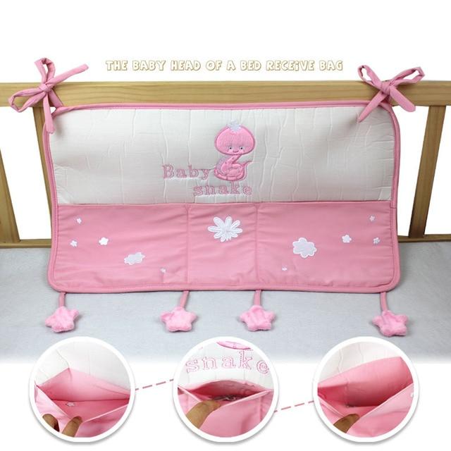 Förderung Rosa Baby Bett Hängen Tasche Portable Storage Bettwäsche
