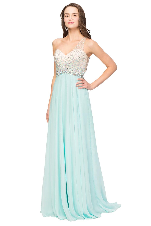 Cheap Aqua Prom Dresses