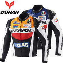 2017 Autumn DUHAN cross-country REPSOL motorcycle riding jacket men motorbike jackets personality sports motor clothes of oxford