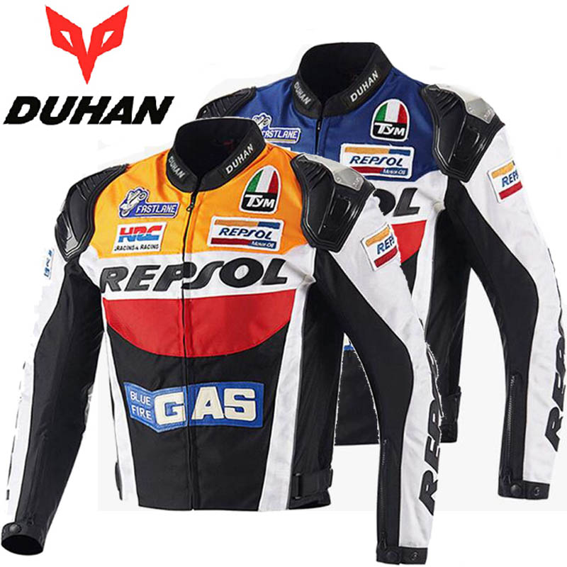 2017 sunner new mesh riding tribe cross country motorcycle jacket jk 37 motorbike jackets made of oxford cloth size m xxxxl 2017 Autumn DUHAN cross-country REPSOL motorcycle riding jacket men motorbike jackets personality sports motor clothes of oxford