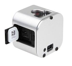 Image 5 - Ir pro Câmera acessórios 2016 novo quadro Da Câmera Gopro Hero 4 Sessão de Alumínio shell de Protecção com Rápida Fivela