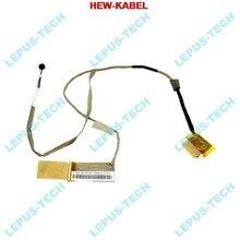 Novo cabo lcd para asus k53 x53 a53 inserção led 14g221036002 lvds cabo de vídeo flex