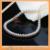 Clássico de 18 polegadas Grande diâmetro contas gargantilhas colar de Pérolas de água doce da pérola 10-11mm com caixa de presente longo fino