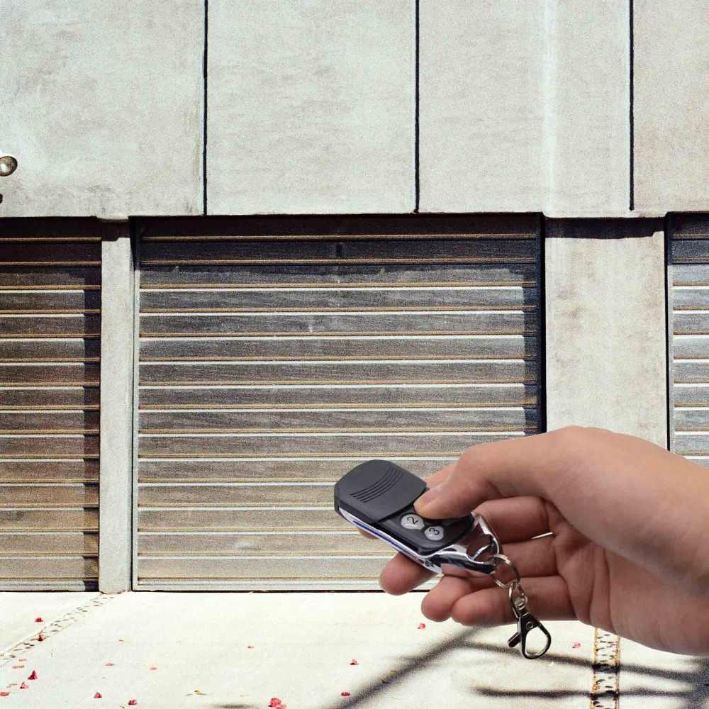 Transmisor de control remoto de puerta de garaje eléctrica liftmaster de 433,92 mhz para control remoto de barrera 4335e, código rodante de repuesto