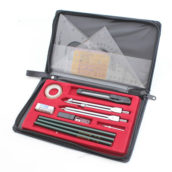 The new upgraded version of the drawing package drawing tools construction machinery drawing instrument student drawing tool set ndefo okigbo the mechanics of construction soil