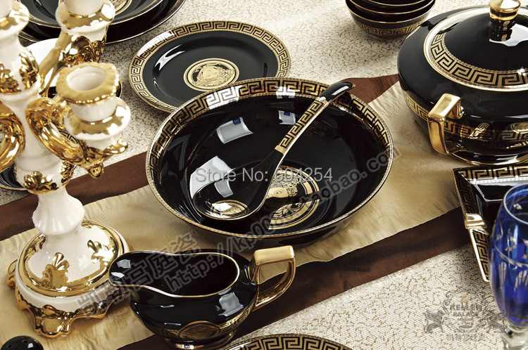 Online buy wholesale plate cutlery from china plate cutlery wholesalers ali - Vaisselle de luxe marque ...