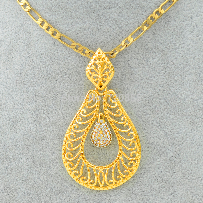 Fashion women gold big pendant necklaces link chain jewelry charm fashion women gold big pendant necklaces link chain jewelry charm pendants real gold plated filled jewellry collar large in choker necklaces from jewelry aloadofball