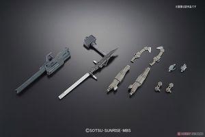 Image 4 - Bandai Gundam HG 1/144 MS Option Set 7  Mobile Suit Assemble Model Kits Action Figures Childrens toys
