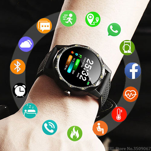 8ca542edfd97 Nuevo deporte reloj inteligente relojes hombres Digital electrónica LED  reloj de pulsera para hombres reloj hombre reloj de pulsera resistente al  agua reloj ...