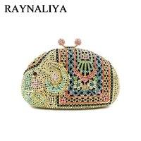 Crystal Rhinestones For Ladies Evening Bags Classical Luxury Diamond Bag Elephant Shape Women Fashion Handbag ZH