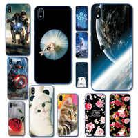 Brilliant Telefon Fall Für Xiaomi Redmi 7A 7 Astronaut Cartoon Kaninchen Weichen Telefon Capa Für Xiaomi Redmi 7A Phantasie Telefon taschen