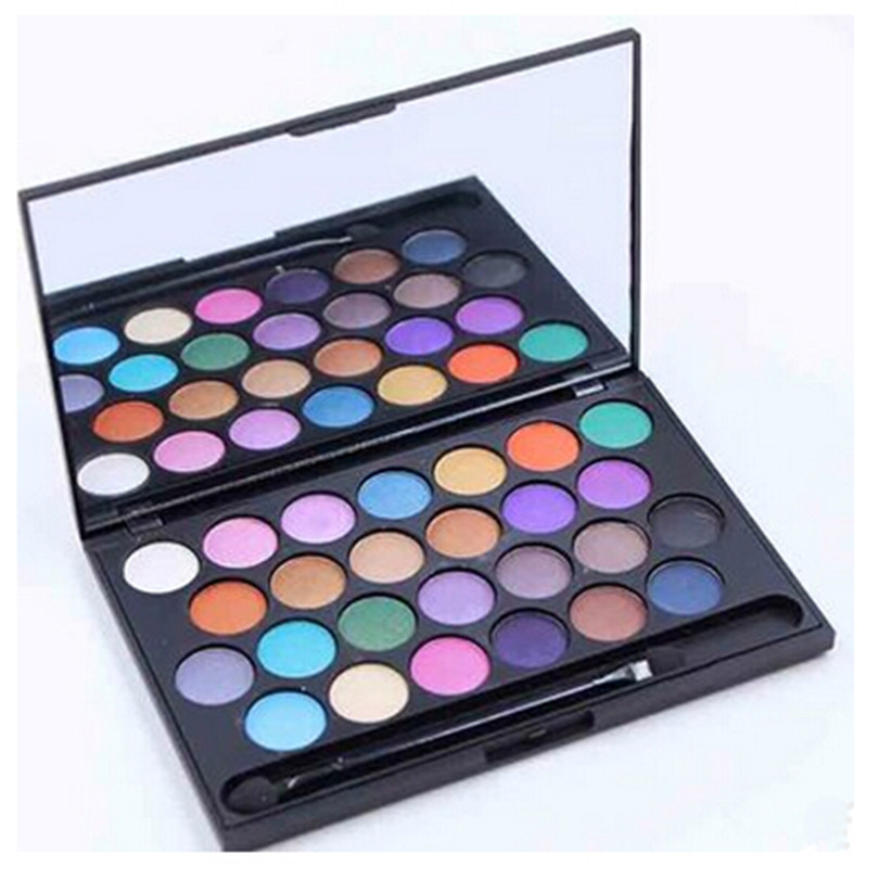 Popfeel 6 Colors/kit Eyes Glitter Powder Palette Makeup