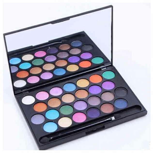 New Professional Makeup 26 color Eye shadow Palette Bright Glitter eyeshadow Make up Palettes Kit Cosmetics Set