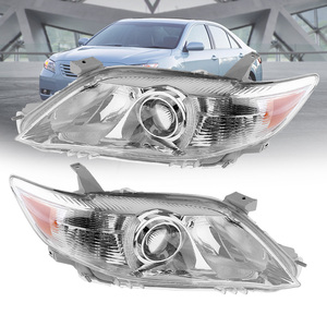 Image 2 - Waterproof Headlamp Clear Projector Left/Right 2 Pcs Headlight Replacement US Built Fit for 2010 2011 Toyota Camry USA Modes