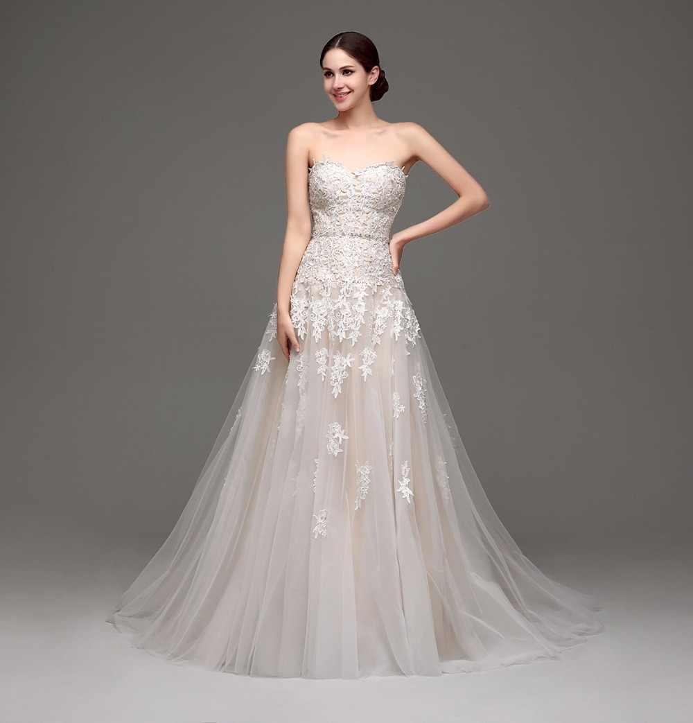 Imagen de un vestido de novia