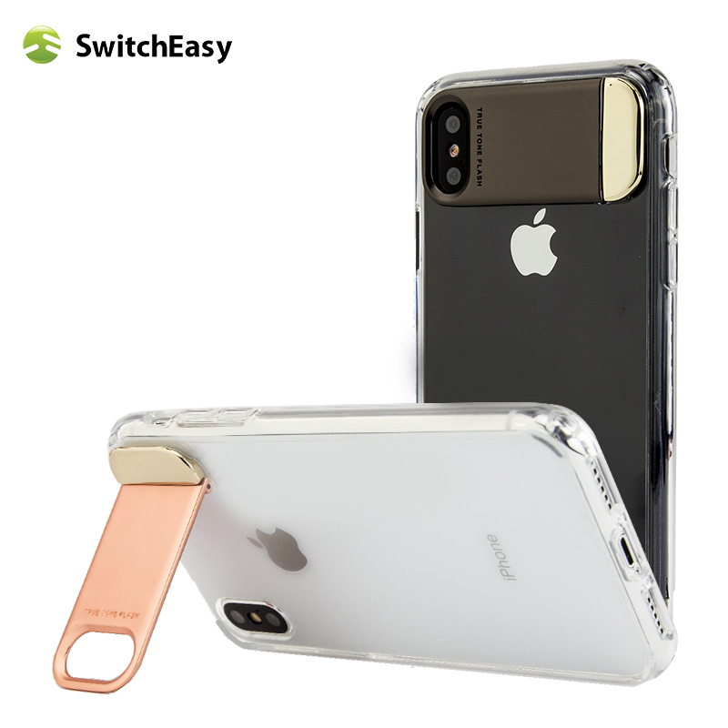 finest selection c504b 73833 US $12.99 |Switcheasy Phone Case For iPhone X 10 Ultra Thin Slim Back Cover  Case For Apple iPhoneX Capinhas Hard -in Half-wrapped Case from Cellphones  ...