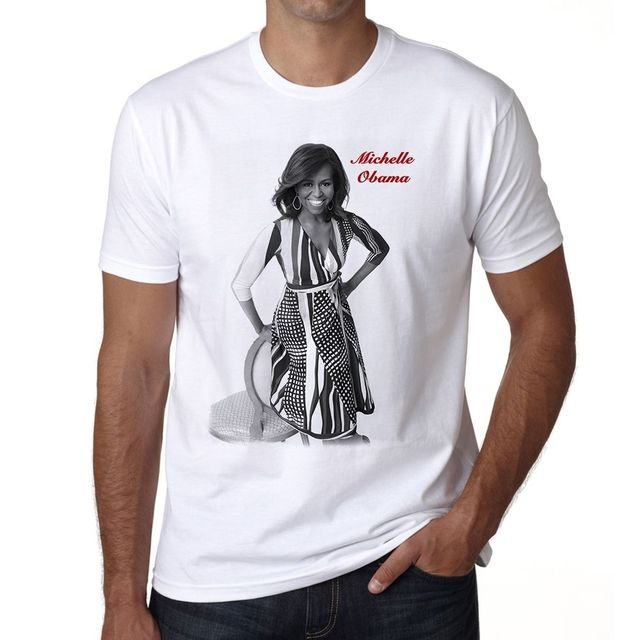 9243ad0d Michelle Obama Tshirt Men's T shirt-in T-Shirts from Men's Clothing ...