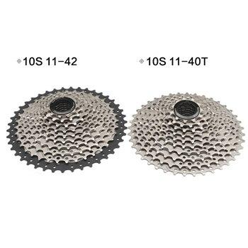 10 velocidad amplia relación de bicicletas bicicleta mtb rueda libre Cassette 11-40T 11-42T