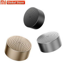 Asli Xiao Mi Mi Portabel Bluetooth Speaker (Kecil Audio) bluetooth 4.0 Nirkabel Mi Ni Logam Sempurna 4 H P Mi C(China)