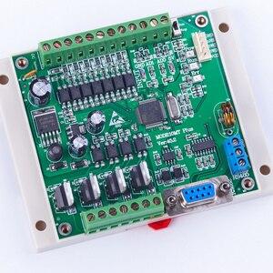 Image 5 - PLC FX2N 10MT STM32 MCU 6 المدخلات 4 الترانزستور الناتج 2 AD وحدة 0 10 فولت المدمج في البطارية RTC وحدة تحكم المحرك تيار مستمر 24 فولت الضميمة