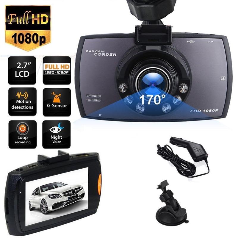 HD Dash Cam Video Recorder Rearview Mirror Car Camera DVR Night Vision C4A1
