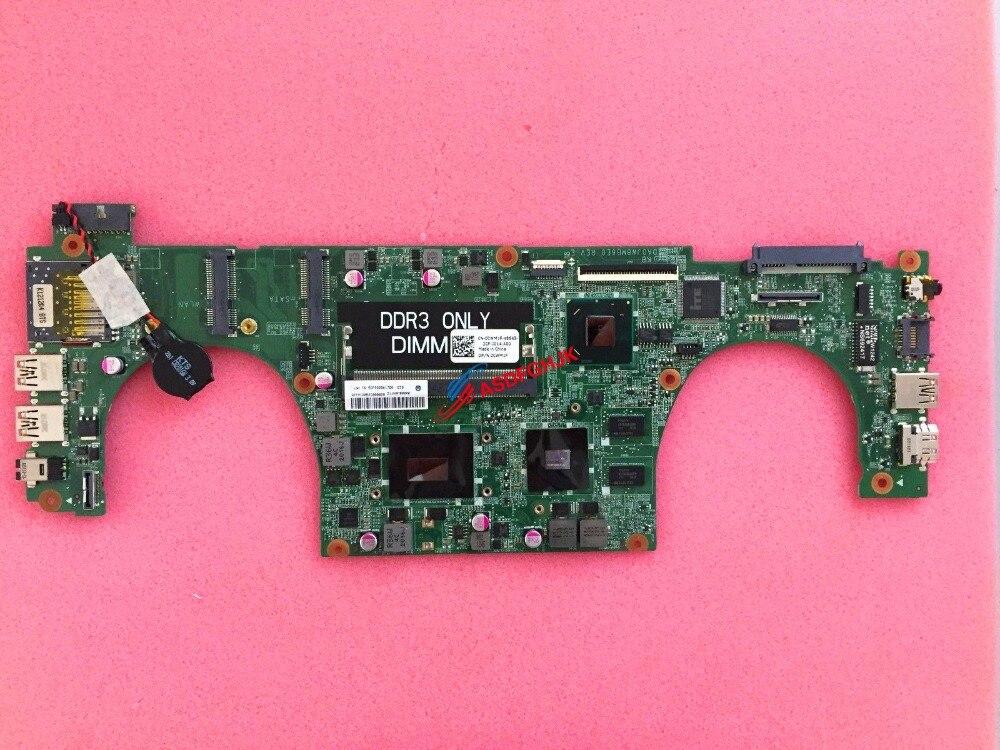Original pour Dell Vostro 5460 système de carte mère d'ordinateur portable avec I3-3217U et GT630 CWM1F 0CWM1F CN-0CWM1F DA0JW8MB6E0 100% testé OK