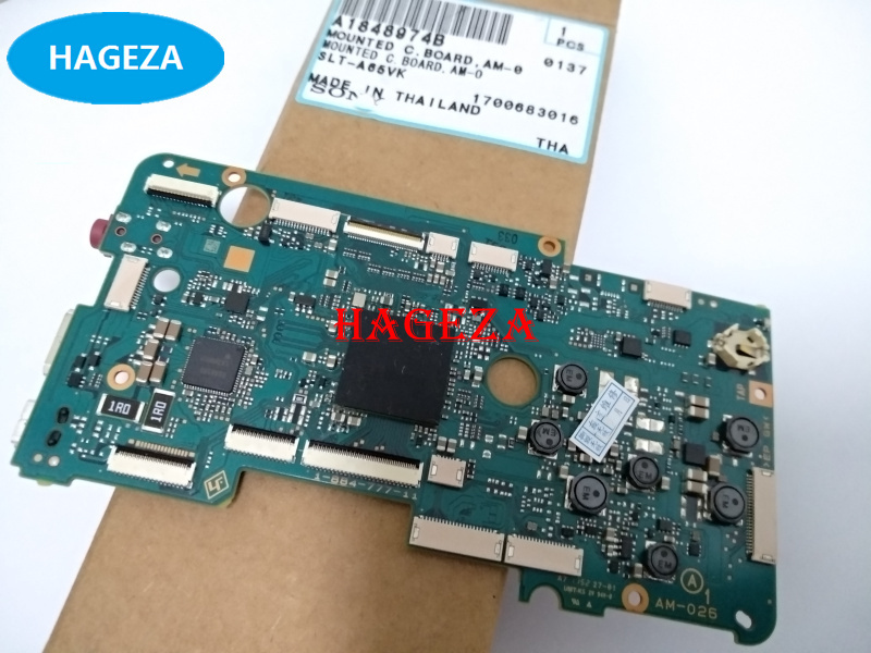 Original A65V Motherboard Main board PCB For sony SLT-A65V Mainboard Mother Board Camera Repair parts недорого