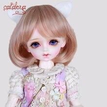 Cataleya Bjd sd кукла парик 1/3 1/4 1/6 1/8 парики Высокая температура шелк смешанный цвет градиент короткие волосы