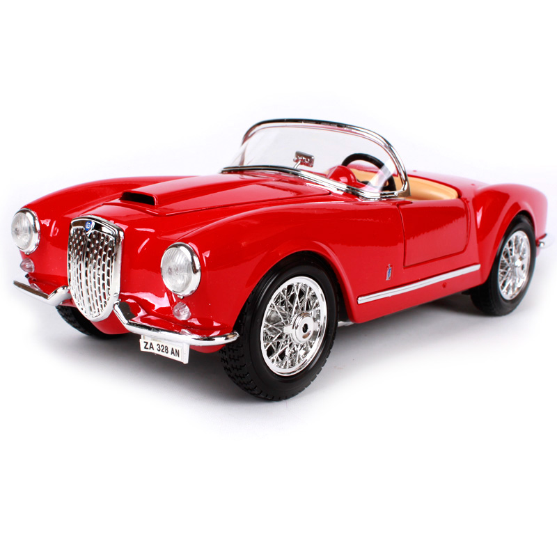 Maisto Bburago 1:18 1955 Lancia Aurelia B24 Spider Retro Classic Car Diecast Model Car Toy New In Box Free Shipping 12048 maisto bburago 1 18 jaguar e type cabriolet coupe retro classic car diecast model car toy new in box free shipping 12046