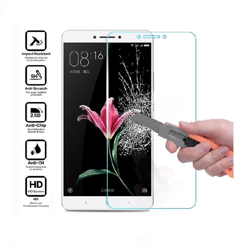 <font><b>Xaomi</b></font> Xiomi <font><b>Mi</b></font> Max 2 <font><b>Max2</b></font> Protective Glass For Xiaomi <font><b>Mi</b></font> Max 2 Glass <font><b>Mi</b></font> <font><b>Max2</b></font> Max 2 Tempered Glass Screen Protector Film Foil image