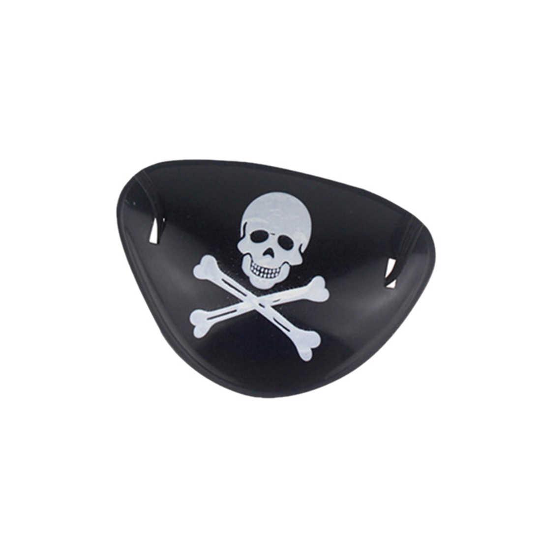 3 шт./лот детская заплатка пирата с черепом Наряжаться опора Игрушка пирата набор для хэллоуина украшения для вечеринки сделанные своими руками поставки подарок для детей