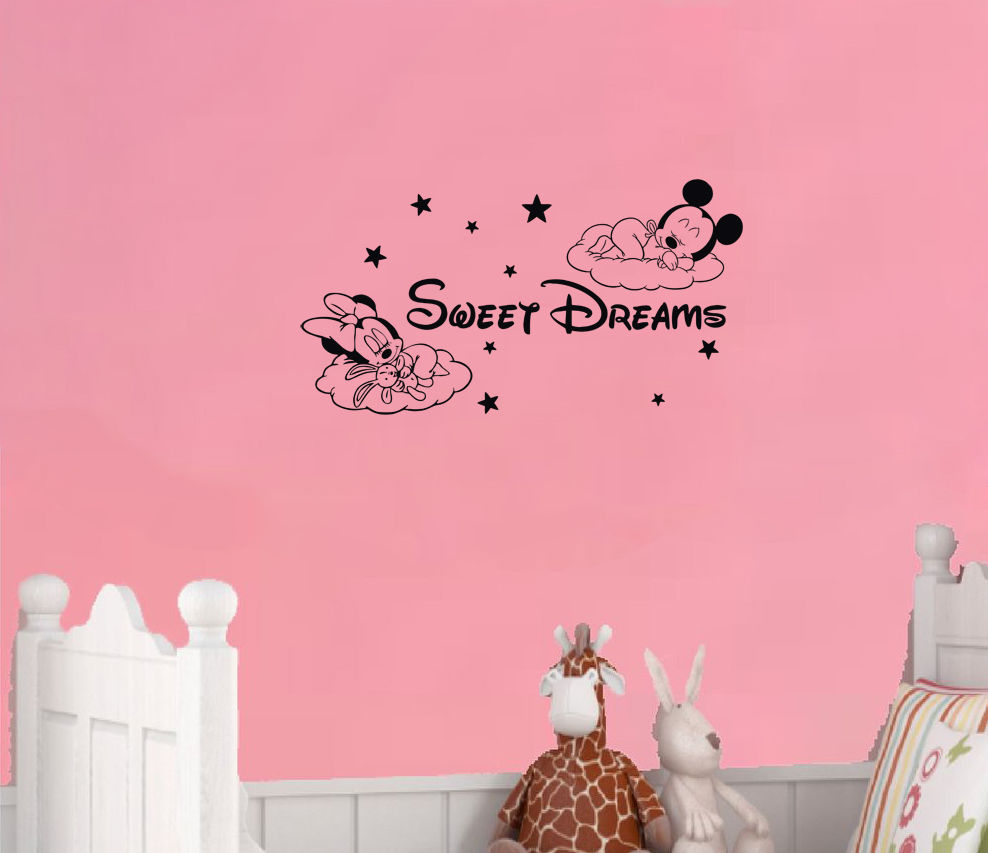 Minnie Mouse Wallpaper For Bedroom Online Get Cheap Minnie Mouse Wall Paper Aliexpresscom Alibaba