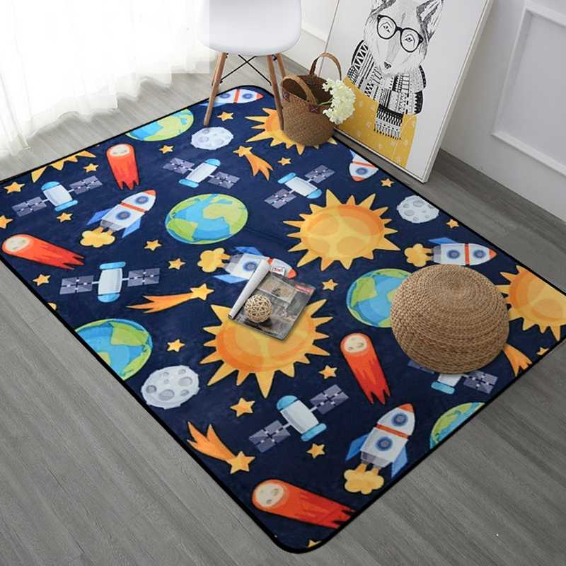 Cartoon Carpet For Living Room