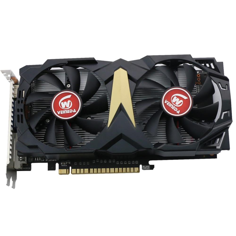 Veineda original GT740 GPU tarjeta 2G GDDR5 128Bit gráficos VGA tarjeta de juego 993/5000 MHz para NVIDIA geForce juegos