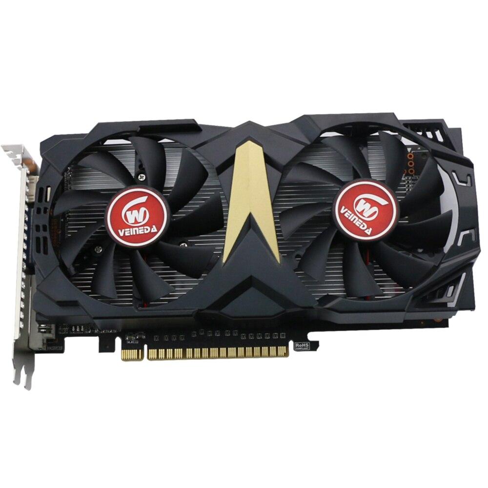VEINEDA Original GT740 GPU carte vidéo 2G GDDR5 128Bit graphique VGA carte de jeu 993/5000 MHz pour nVIDIA Geforce jeux