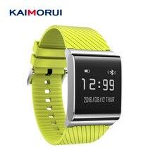 Kaimorui X9 плюс браслет сердечного ритма Мониторы напоминание Водонепроницаемый IP67 Smart Браслет Шагомер Bluetooth для iOS и Android